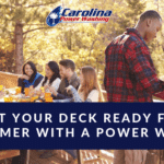 Get Your Deck Ready for Summer with a Power Wash