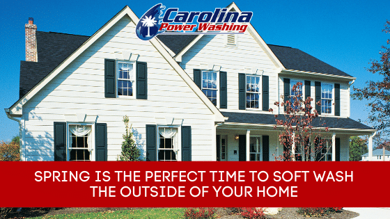 Soft Wash the Outside of Your Home