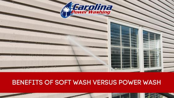 Benefits of Soft Wash Versus Power Wash