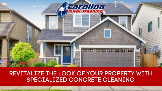 specialized Concrete Cleaning