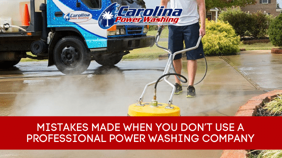 professional power washing company