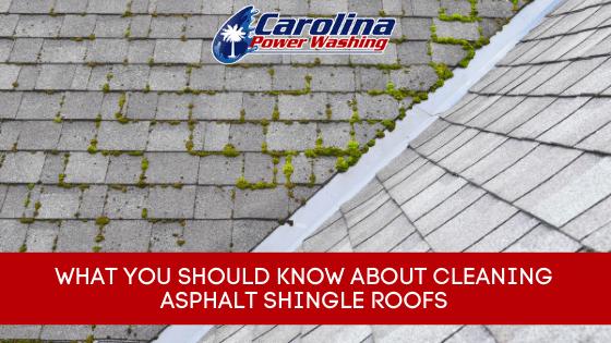 Cleaning Asphalt Shingle Roofs