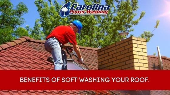 Benefits of Soft Washing Your Roof